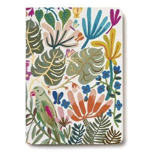 Red Cap Cards: Tropical Jungle Notebook
