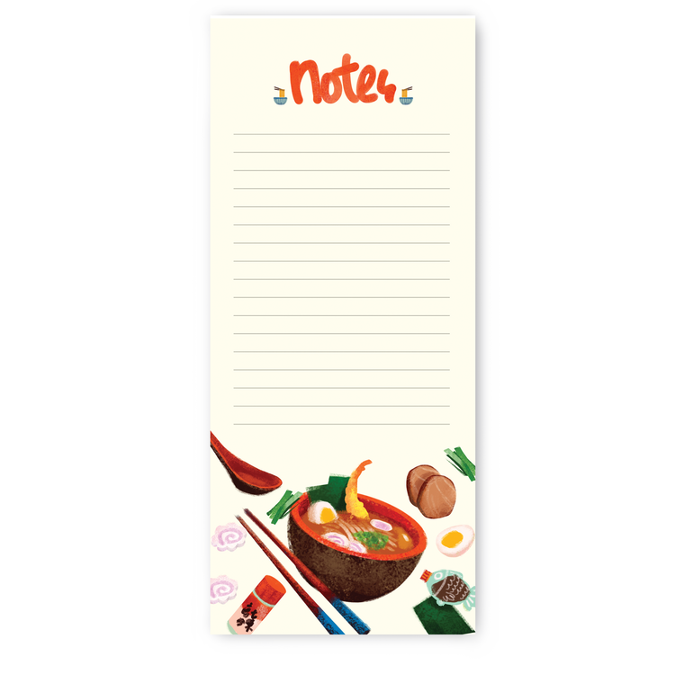 The Little Red House: Ramen Notepad