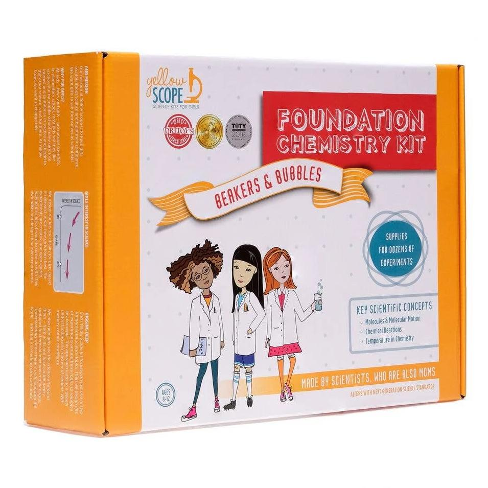 Yellow Scope: Foundation Chemistry Kit: Beakers & Bubbles