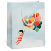 Red Cap Cards: Baby Balloon Bag
