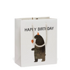 Red Cap Cards: Party Bear Bag