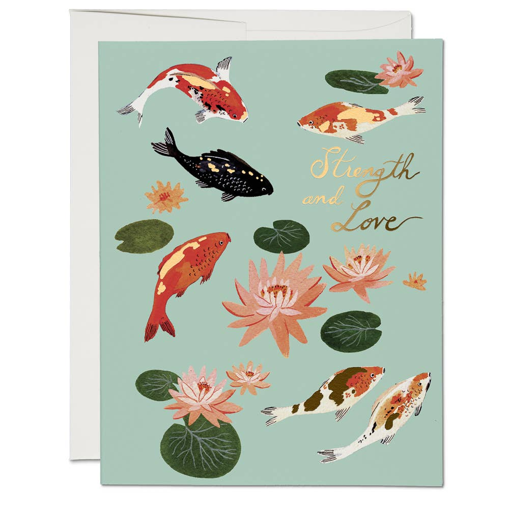 Red Cap Cards: Koi Fish - Boxed Set