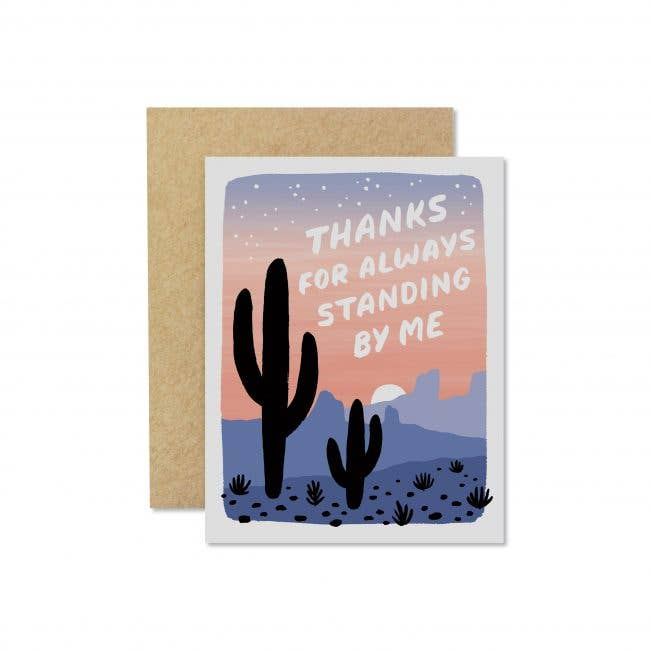 Wild Hart Paper: Stand By Me Card