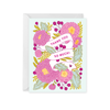 Paper Raven Co: Floral Banner Thank You Card