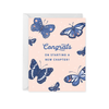 Paper Raven Co: Butterfly Congrats Card