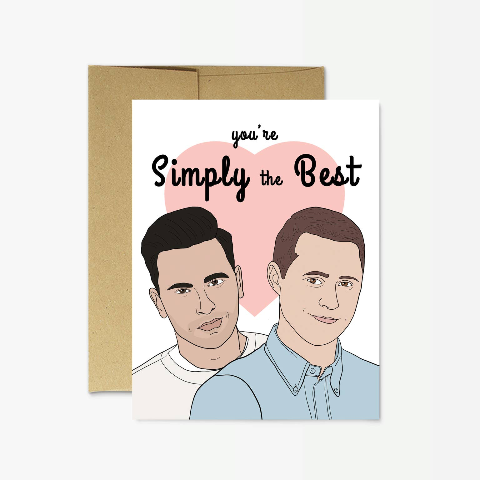 Party Mountain Paper Co.: Schitt's Creek You're Simply the Best Card