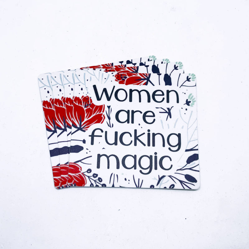 Citizen Ruth: Women Are Fucking Magic Sticker