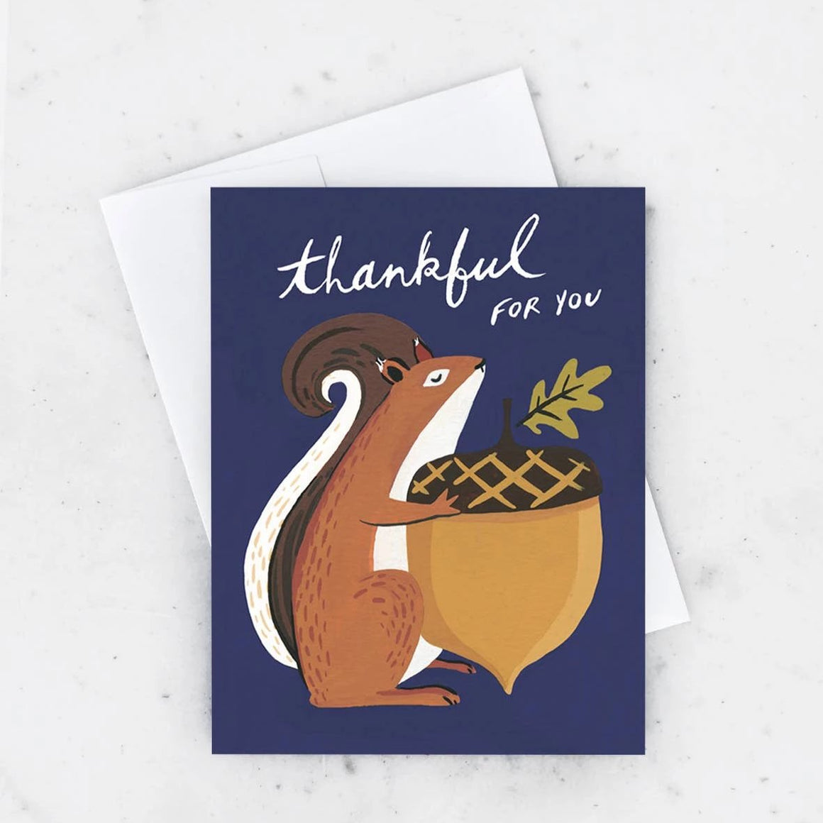 Idlewild: Thankful Squirrel Card