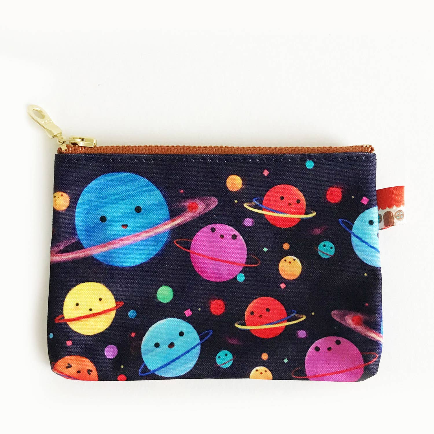 The Little Red House: Hula Universe Coin Purse