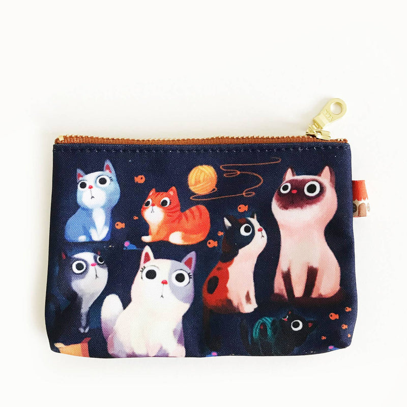 The Little Red House: Cats Coin Purse