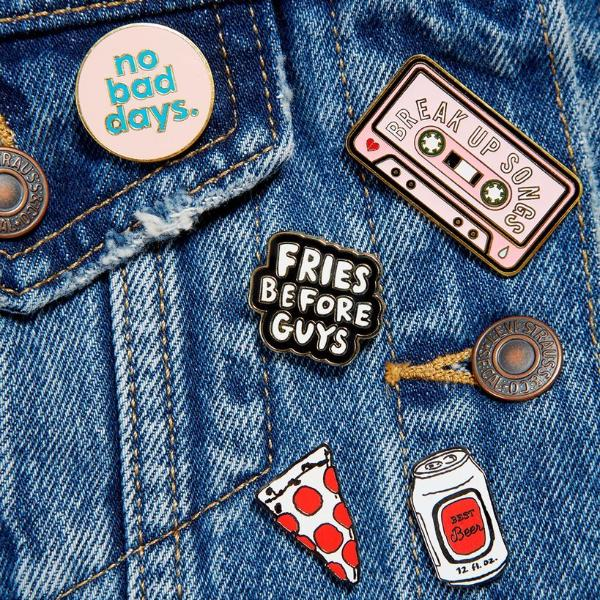 Ban.Do: Break Up Songs Enamel Pin