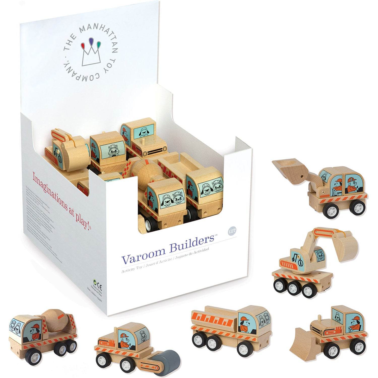 Manhattan Toy Company: Varoom Builders