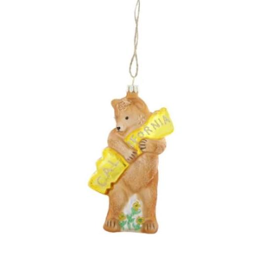 Cody Foster: California Bear Hug Ornament