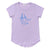 Banana Pair Scoop Neck T-shirt, Pastel Violet | Women