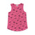 Puppy Print Tank, Light Rose | Women