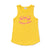 Happy Vibes Tank, Sunshine Yellow | Women