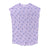 Banana Print T-shirt Dress, Pastel Violet | Women