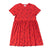 Banana Print Baby Doll Dress, Fluro Coral | Women