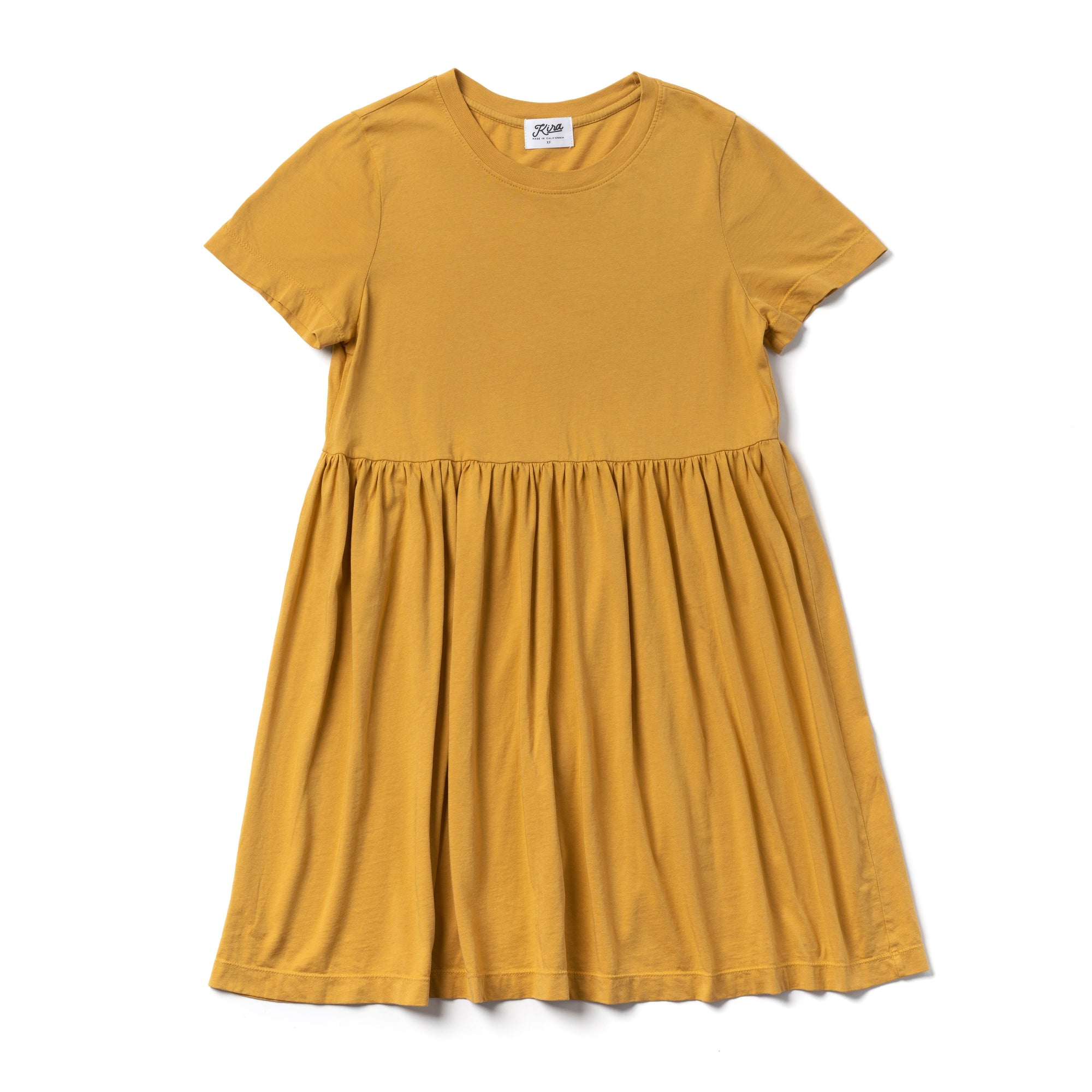 Golden Baby Doll Dress | Women