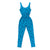 Puppy Print Tank Jumpsuit, Azure Blue | Women