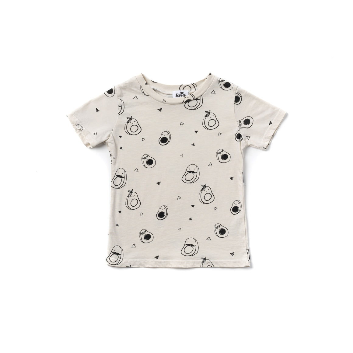 Avocado Print T-shirt, Natural