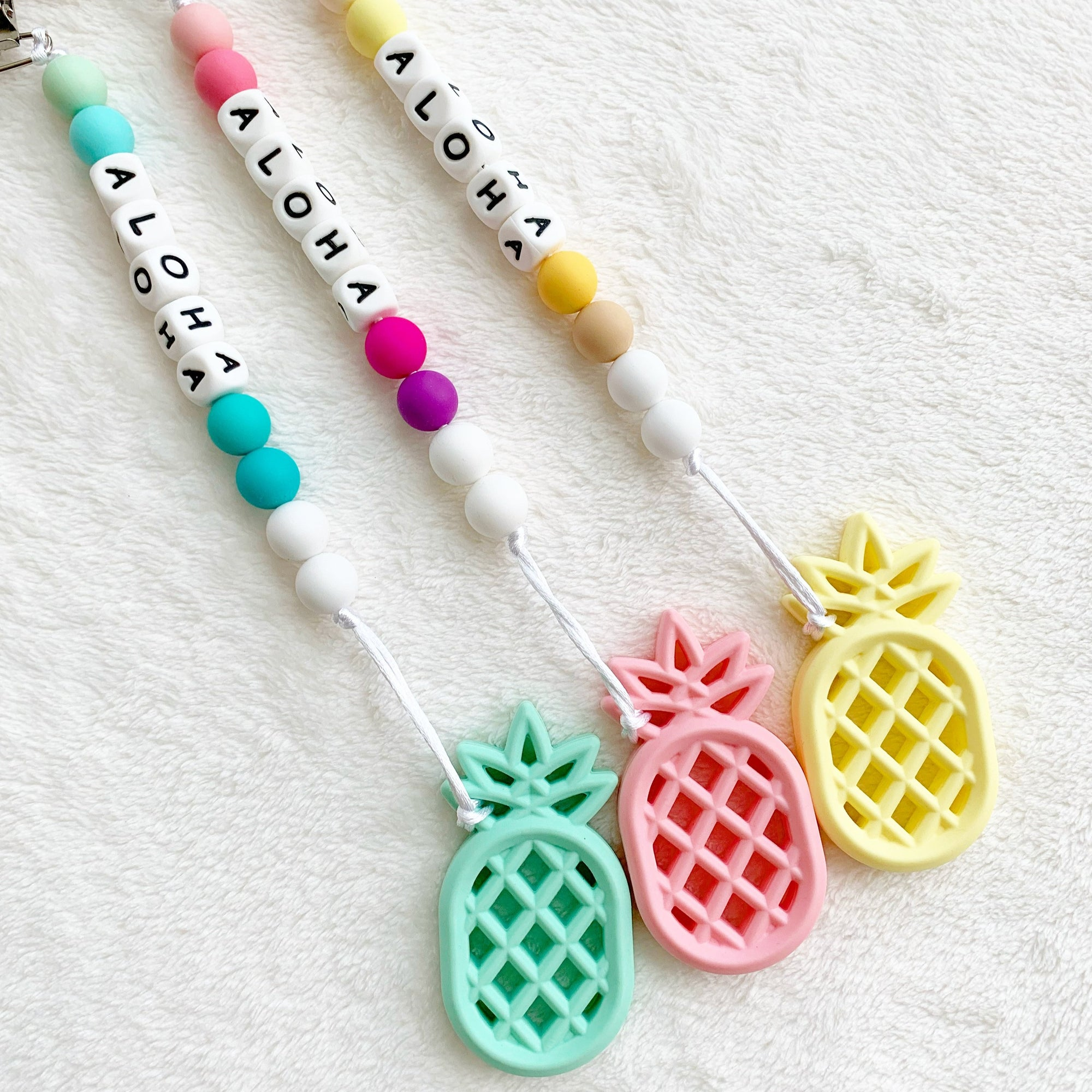 Kids in Paradise: Aloha Pineapple Teethers