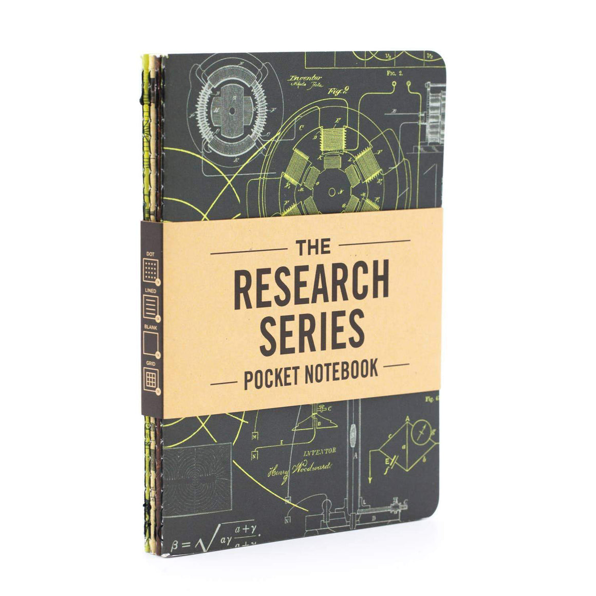 Cognitive Surplus: Engineering & Physics Pocket Notebooks 4-pack