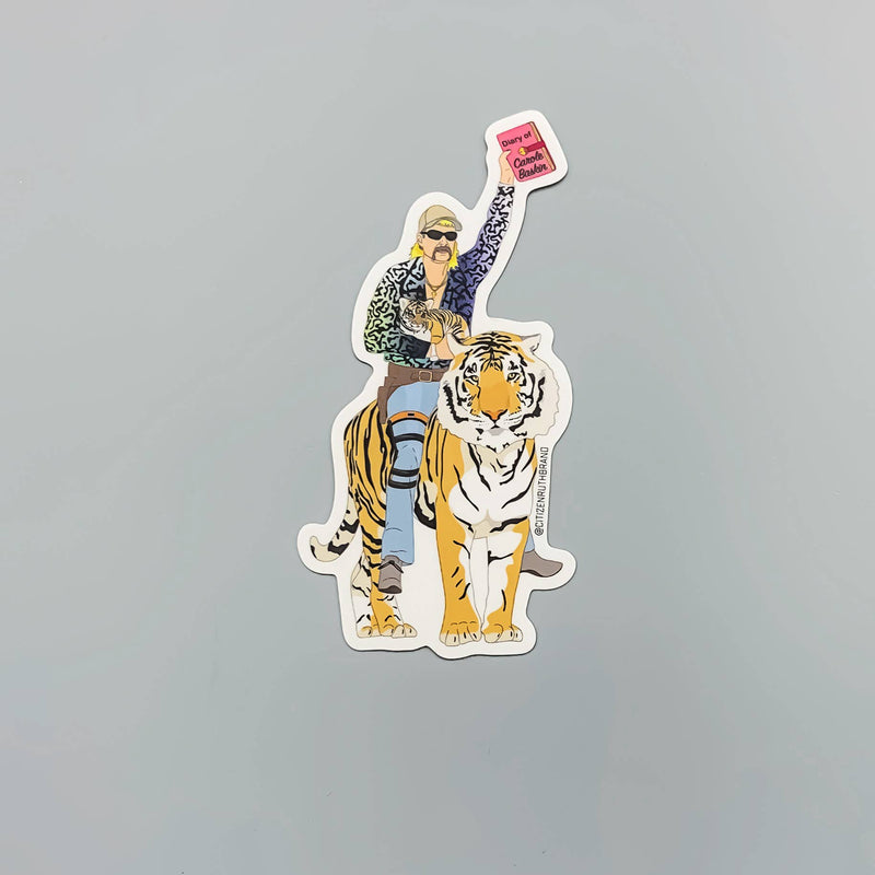 "Citizen Ruth: Joe Exotic ""Tiger King"" Sticker"