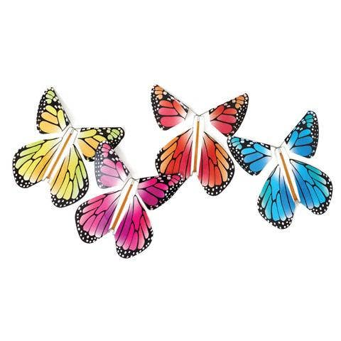 Tops Malibu: Magic Flying Rainbow Butterfly