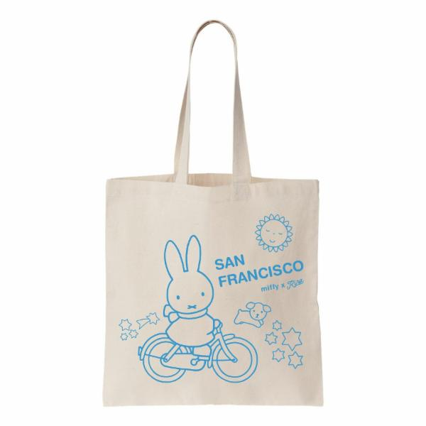 Miffy Bike SF Tote