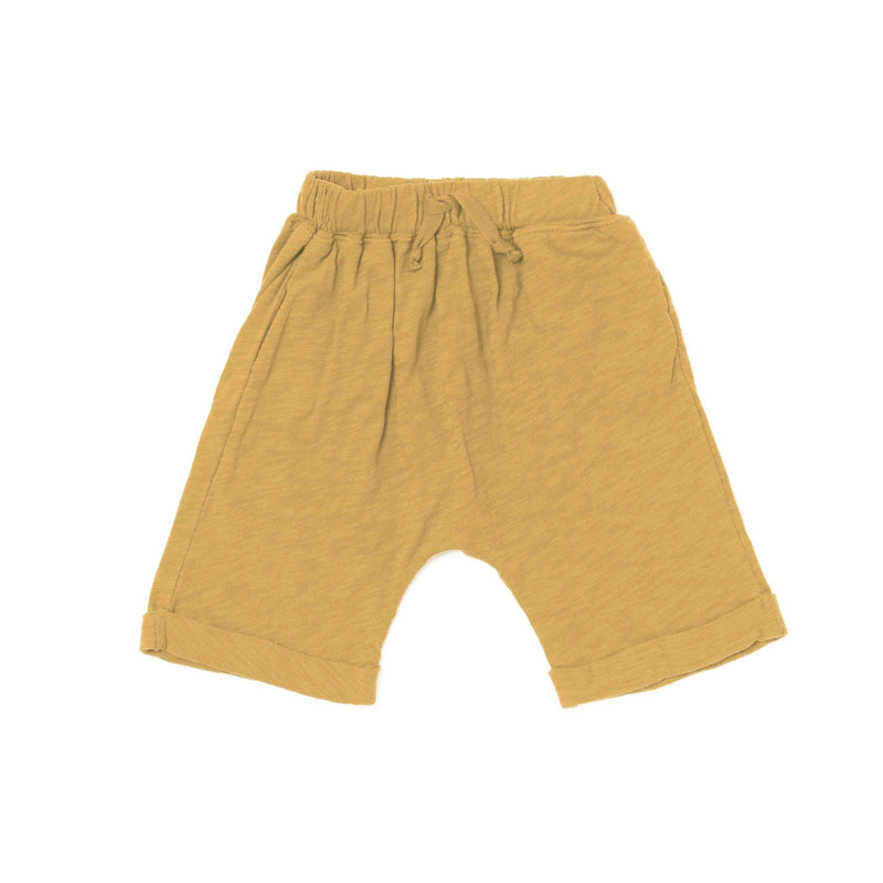 Slub Lounge Shorts, Golden