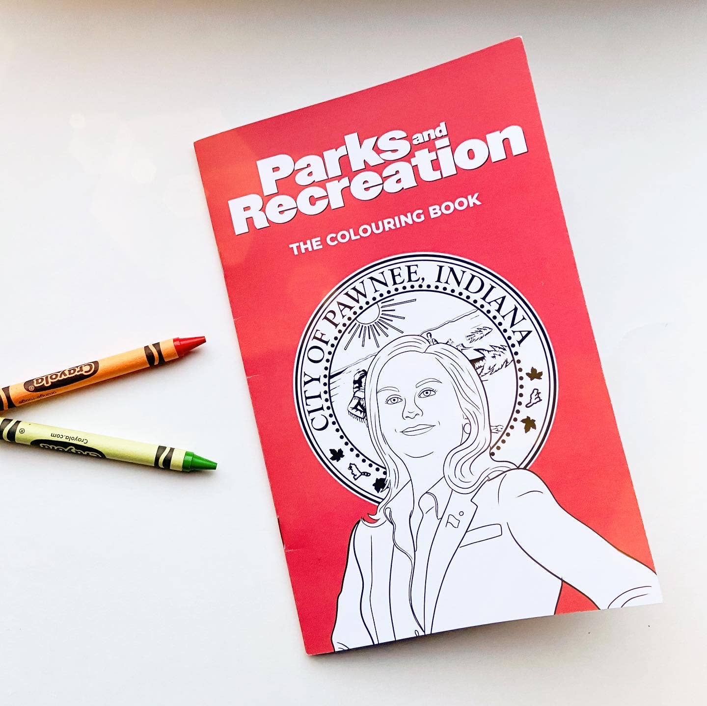 Party Mountain Paper Co.: Parks and Rec Colouring Book