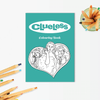 Party Mountain Paper Co.: Clueless Colouring Book