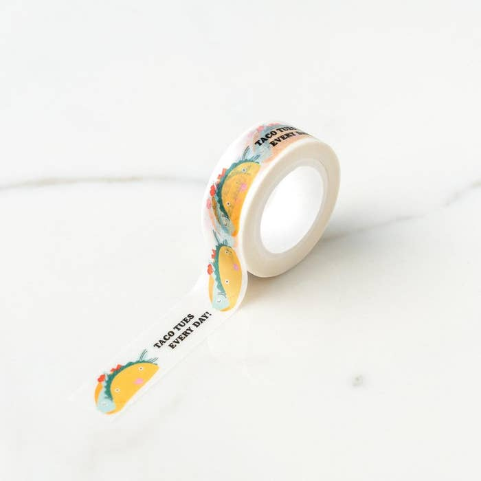 Ilootpaperie: Taco Tuesday Everyday Washi Tape