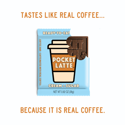 Pocket Latte: Cream & Sugar - Coffee Bar