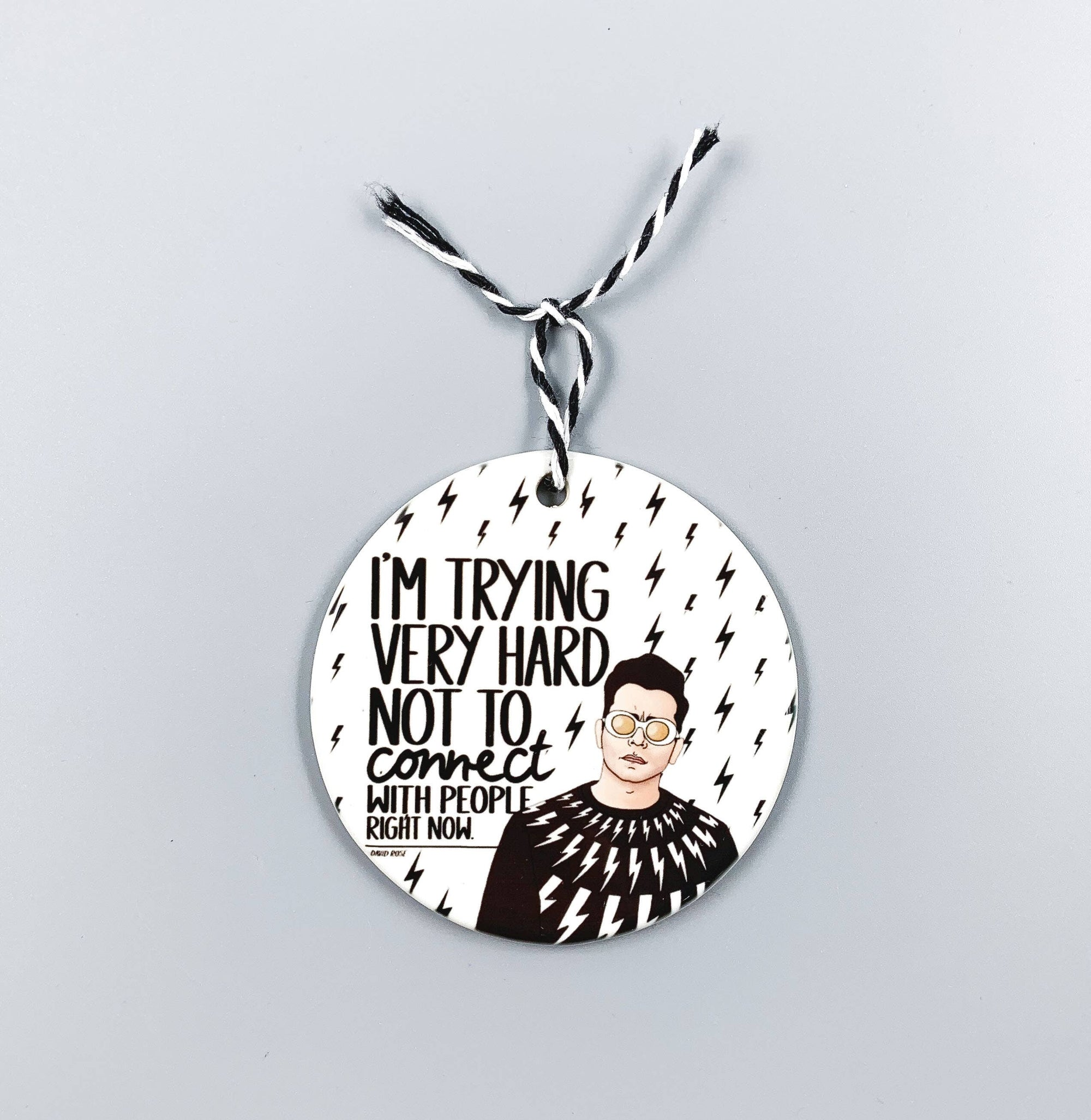 Citizen Ruth: Schitt's Creek David Ornament
