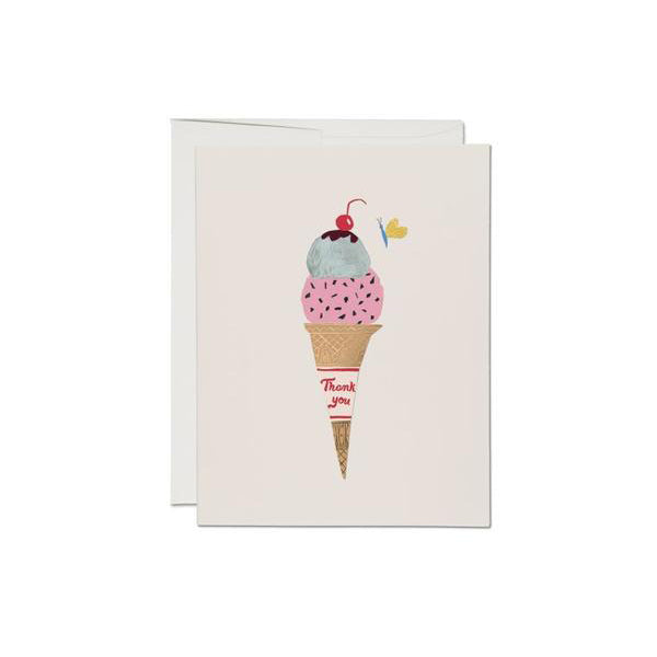 Red Cap Cards: Ice Cream Cone