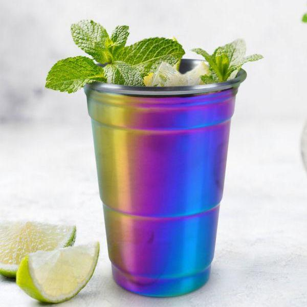 Fred: Rainbow Party Cup