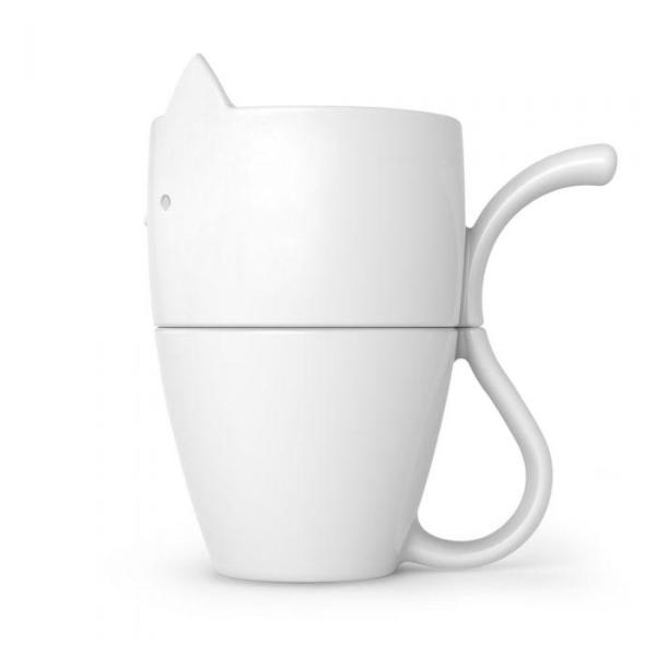 Fred: Purr Over Pour Over Coffee Maker and Mug Set