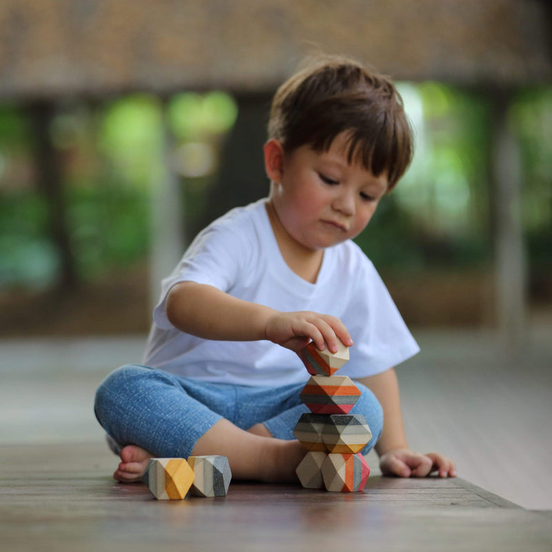 PlanToys: Geo Stacking Rock