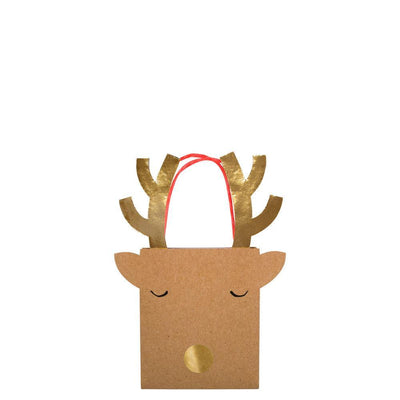 Meri Meri: Reindeer Gift Bag (single)