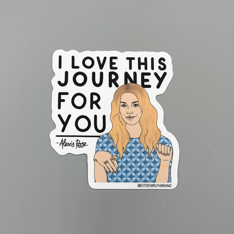 Citizen Ruth: Alexis Journey Sticker