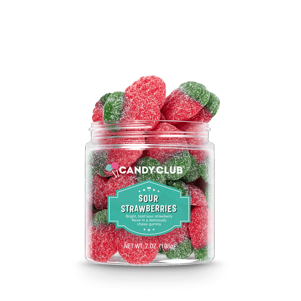 Candy Club: Sour Strawberries