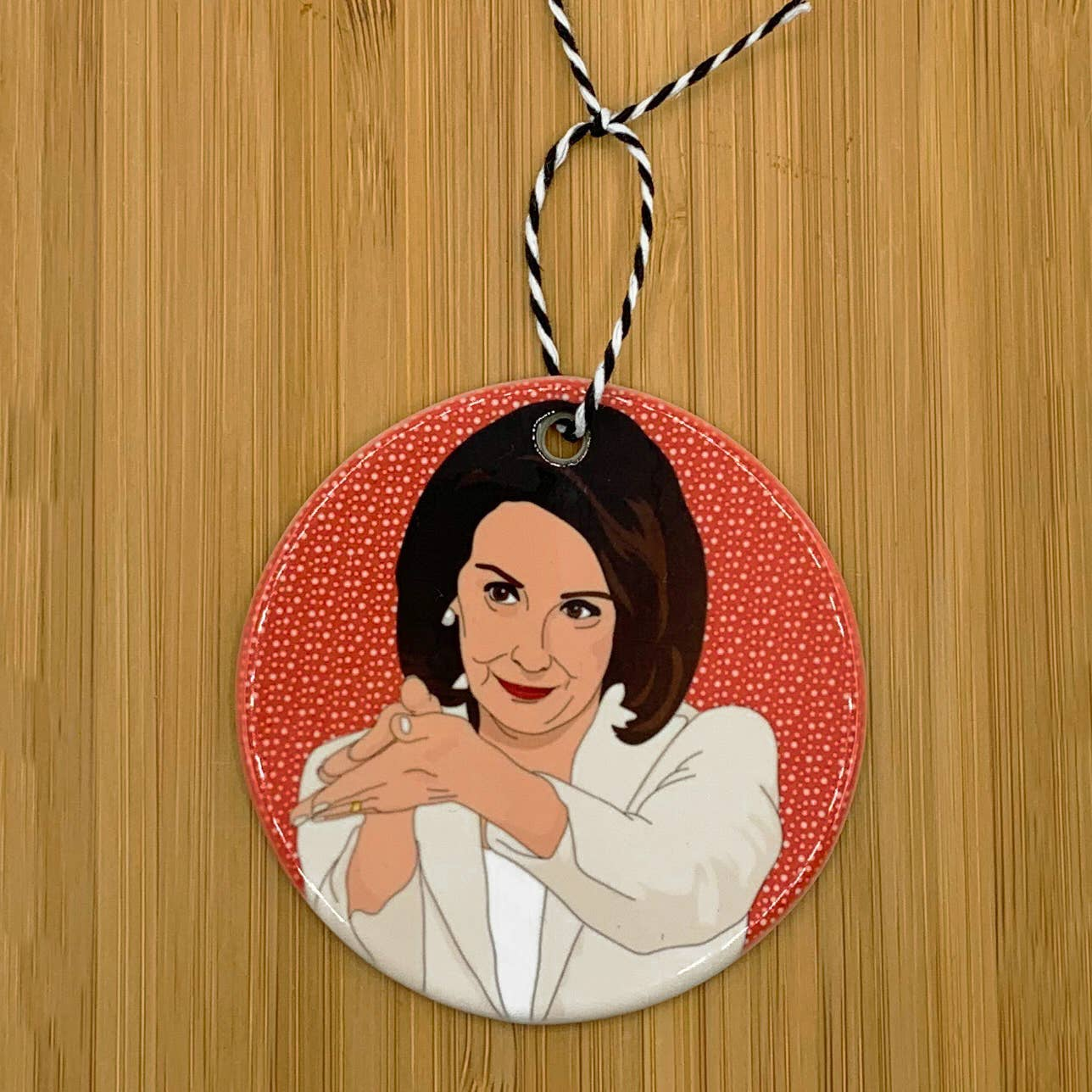Citizen Ruth: Nancy Pelosi Clapback Ornament