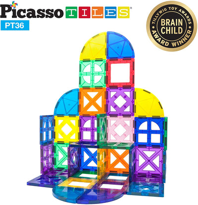 PicassoTiles: 36 Piece Set