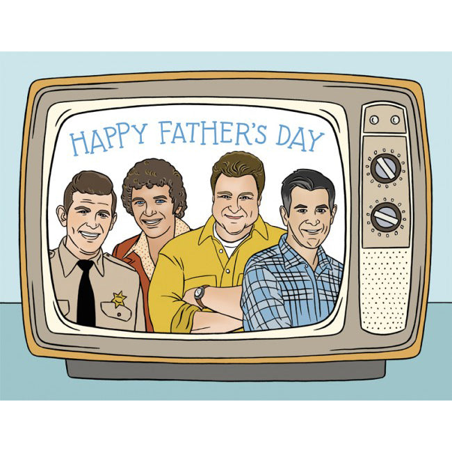 The Found: TV Dads Father's Day Card