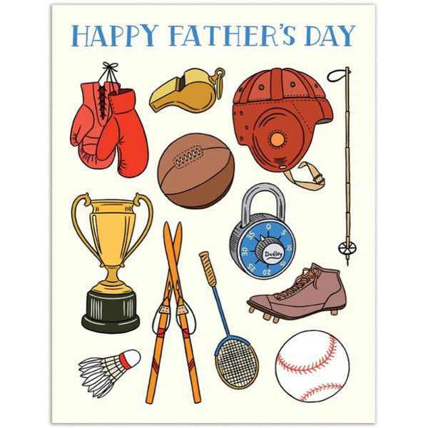 The Found: Vintage Sports Father's Day Card