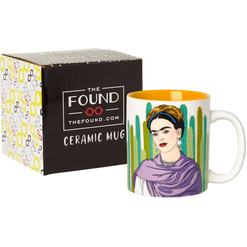 The Found: Frida with Cacti Coffee Mug