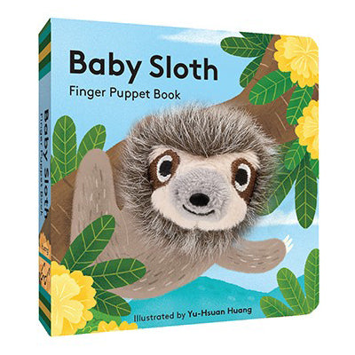 Baby Sloth: Finger Puppet Book