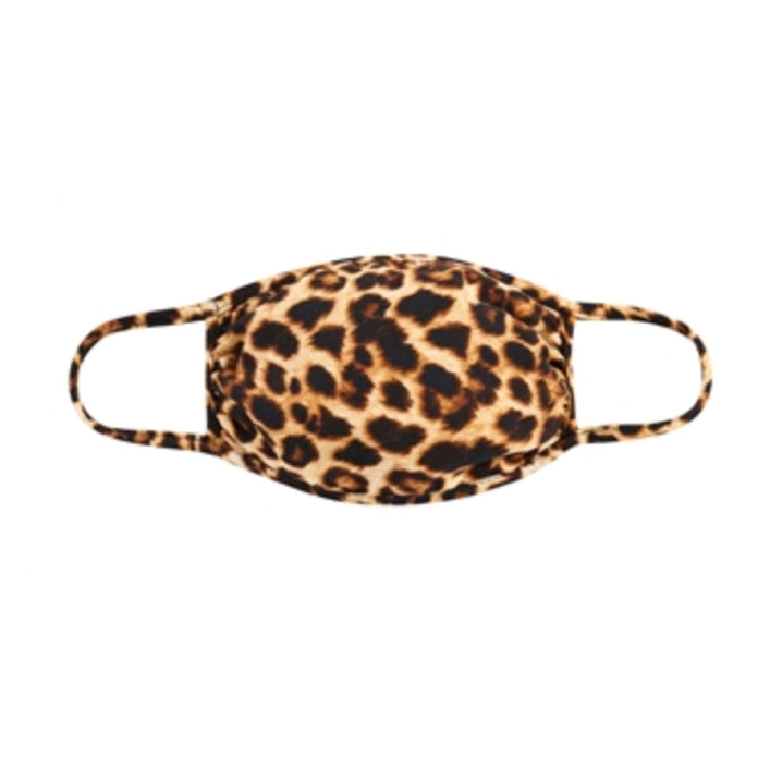 Adult Mask, Leopard Tan